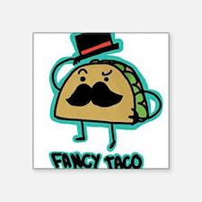 Taco mustache Sticker