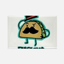 Taco mustache Rectangle Magnet