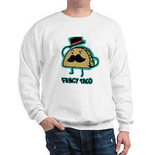 Taco mustache Sweatshirt