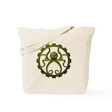 steampunk octo gear Tote Bag