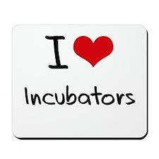 I Love Incubators Mousepad