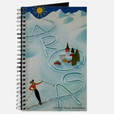 Vintage Arosa Switzerland Travel Journal
