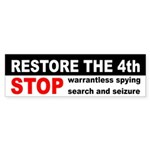Restore the Fourth Bumper Sticker
