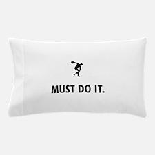 Discus Throw Pillow Case