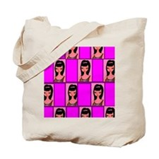 Magical Brunette multiple box hot pink Tote Bag