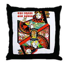 Vintage Las Vegas Travel Throw Pillow