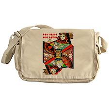 Vintage Las Vegas Travel Messenger Bag