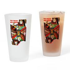 Vintage Las Vegas Travel Drinking Glass