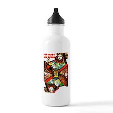 Vintage Las Vegas Travel Water Bottle