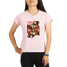 Vintage Las Vegas Travel Peformance Dry T-Shirt