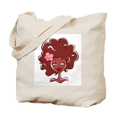AFRO GIRL TOTE by FELYNE Clothing