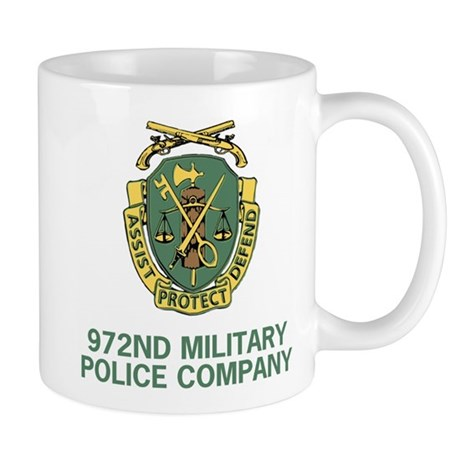 972nd Military Police Company Coffee Cup