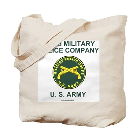 972nd Military Police Company Tote Bag