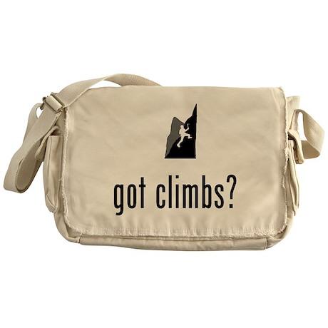 Mountain Climbing Messenger Bag