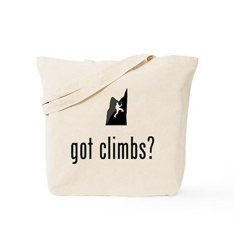 Mountain Climbing Tote Bag