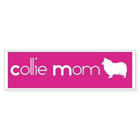 Collie Mom Bumper Sticker