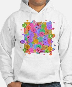Ton Of Buttons Crafts Hoodie