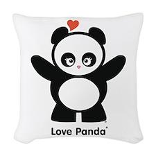 Love Panda® Woven Throw Pillow