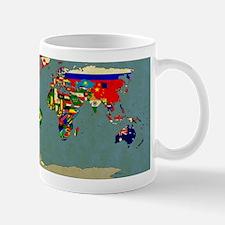 Flag Map 2013 Small Small Mug