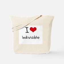 I Love Indivisible Tote Bag