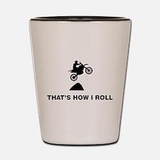 Motocross Shot Glass