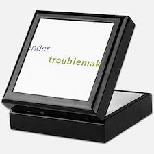 Gender Troublemaker Keepsake Box