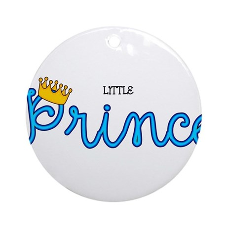 Little Prince Ornament (Round)