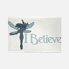 """I Believe"" Pixies Rectangle Magnet"
