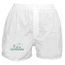 Green Logo Hestehaven Boxer Shorts