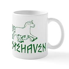 Green Logo Hestehaven Coffee Mug