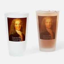 Voltaire Drinking Glass