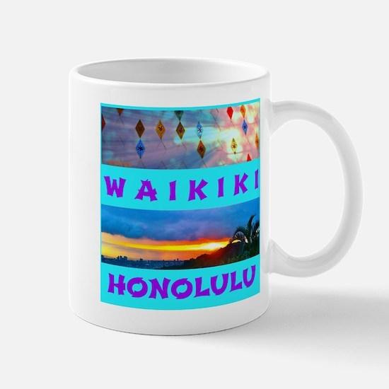 Waikiki Hawaii Sunsets Mug