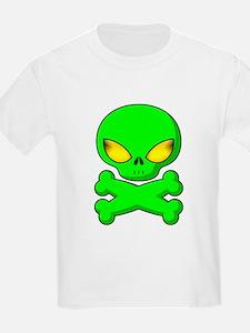 Little Space Alien Kids T-Shirt