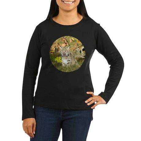 Bobcat Women's Long Sleeve Dark T-Shirt