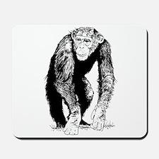 Chimpanzee sketch Mousepad