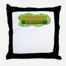 Spongebong Throw Pillow