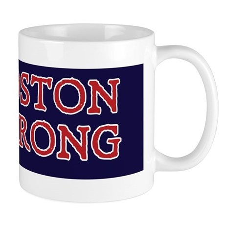 Boston Strong Ribbon Mug