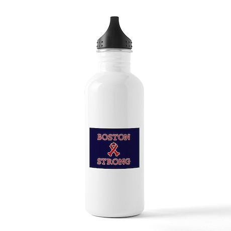 Boston Strong Ribbon Water Bottle