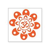 Buddha sticker Square