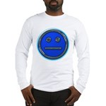 Blue Free Range Aspie Long Sleeve T-Shirt
