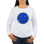 Blue Free Range Aspie Women's Long Sleeve T-Shirt