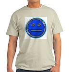 Blue Free Range Aspie Ash Grey T-Shirt