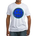Blue Free Range Aspie Fitted T-Shirt