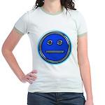 Blue Free Range Aspie Jr. Ringer T-Shirt