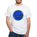 Blue Free Range Aspie White T-Shirt