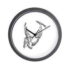 orangutan hanging Wall Clock