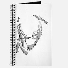 orangutan hanging Journal