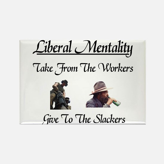 Give to the Slackers Rectangle Magnet