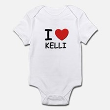 I love Kelli Infant Bodysuit