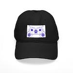 Floral Design Black Cap